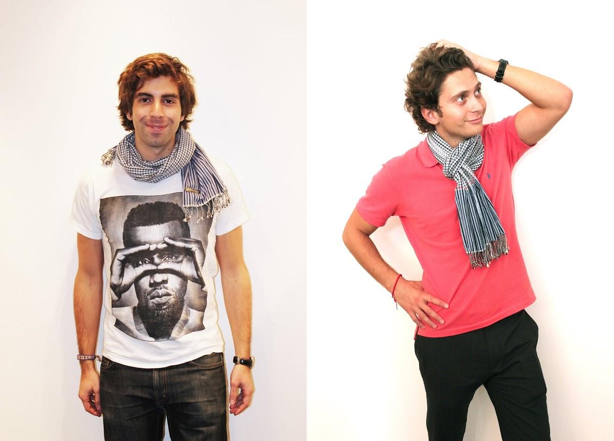 Raphael et Alexandru_créateurs_krama_heritage