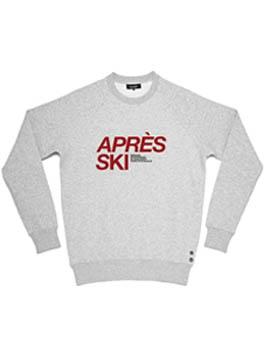 """Sweat """"après ski"""", 125€"""
