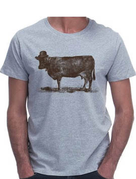 Tshirt Cow Cow Nut Florent Bodart, 25€