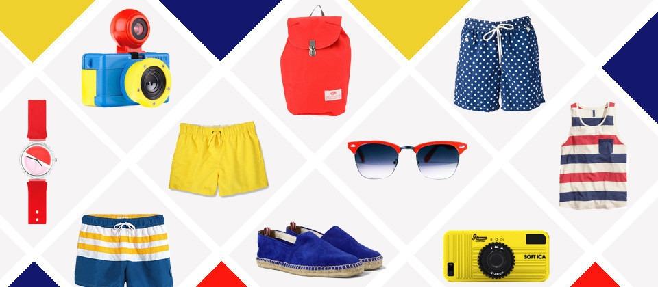 Blau, Rot, Gelb - Primärfarben im Trend