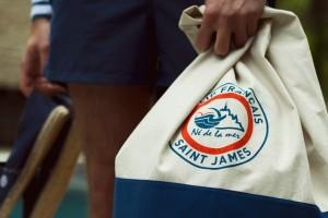 Le Slip Français x Saint James = votre barda de l'été