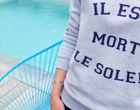 French Disorder : faites parler vos sweats !