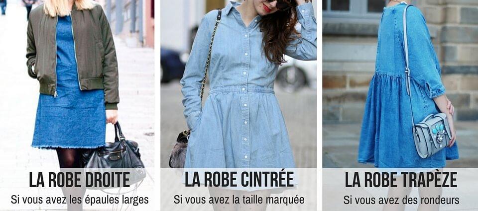 afd858393ef6a Comment porter la robe en jean au printemps ?