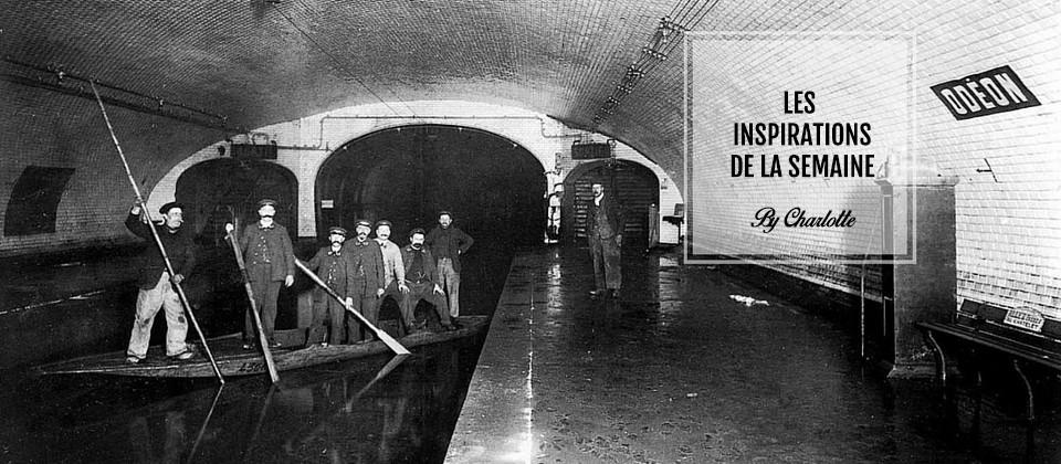 Paris sous l'eau... En 1910.
