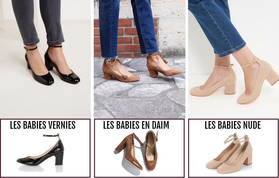 Chaussures babies à talons : bien les porter