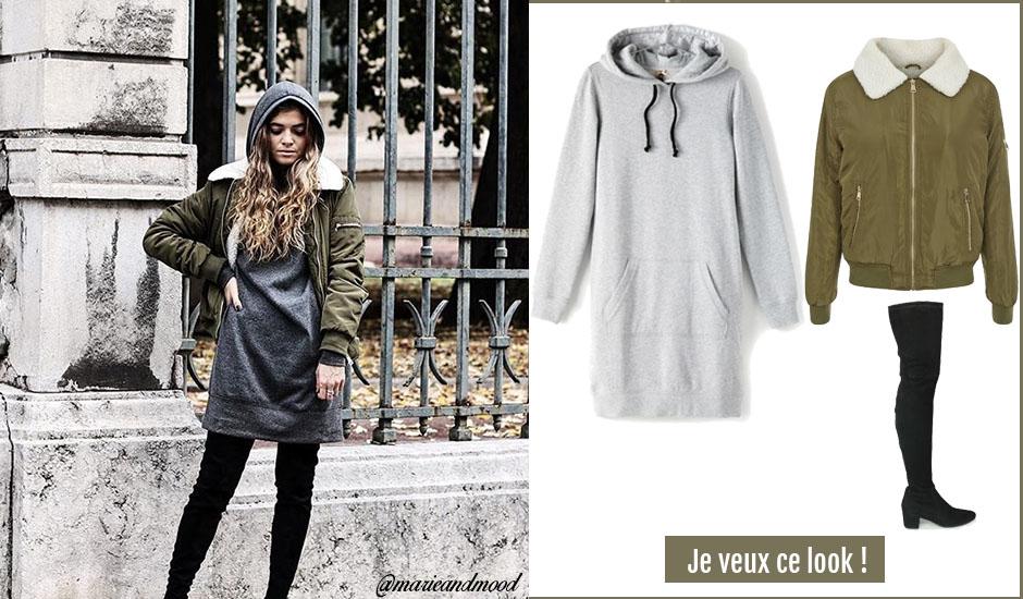 2cf5830e1 Robe-pull : bien la porter cet hiver