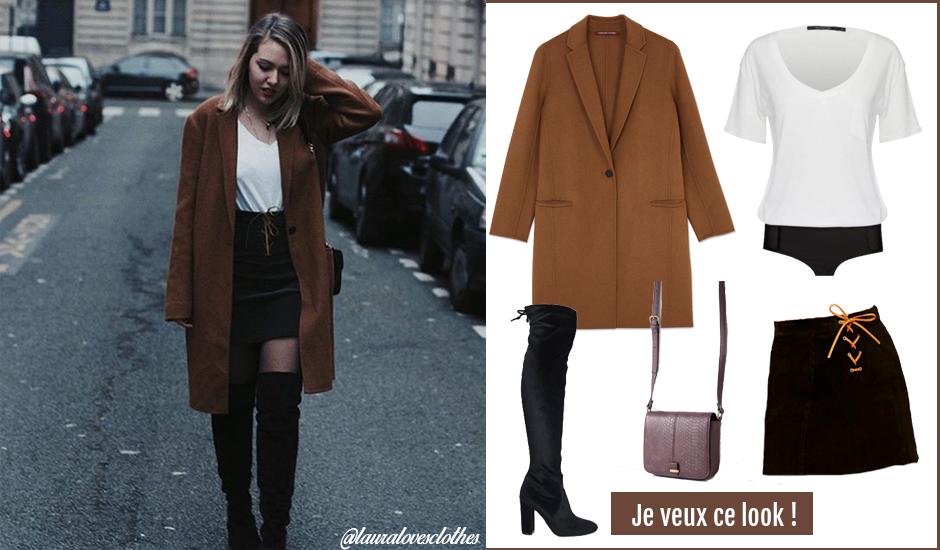 d34899025 Mini-jupe : bien la porter cet hiver