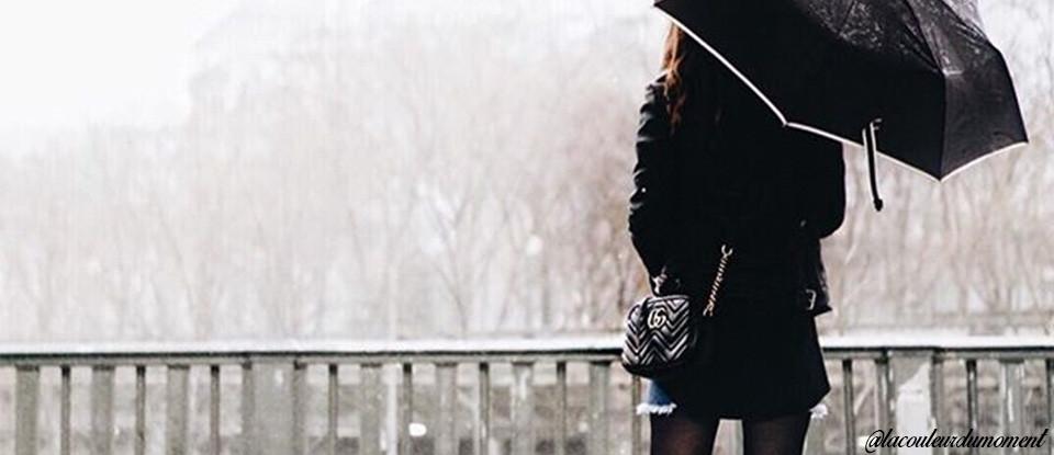 Les indispensables mode pour rester stylée sous la pluie